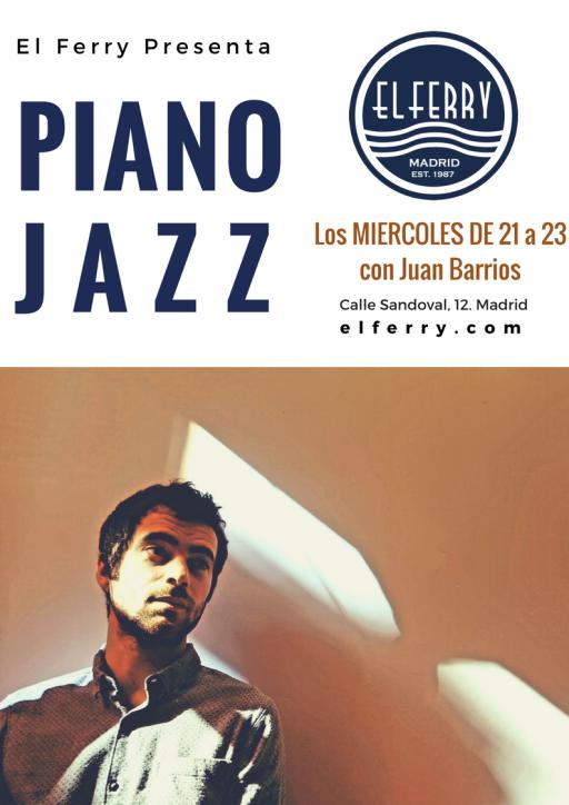 Piano Jazz en el Ferry